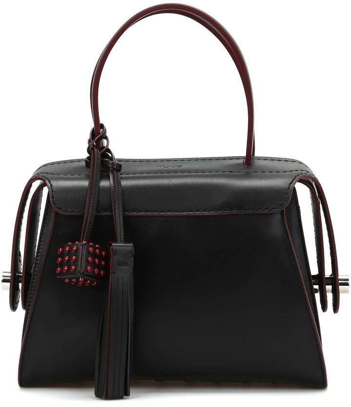 Tod's Twist Leather Small Bowling Bag