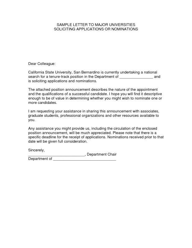 Solicitation Letter Sample template Pinterest Letter sample - sample letter of appointment