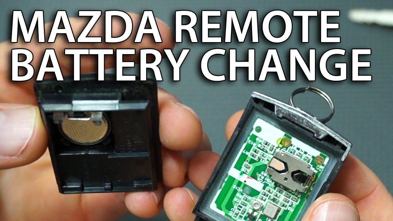 2004 mazda 6 key fob battery size