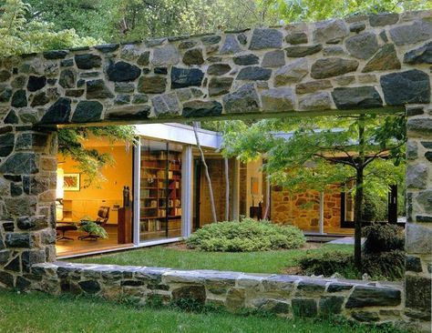 Mid century modern architecture hooper house ii by marcel breuer