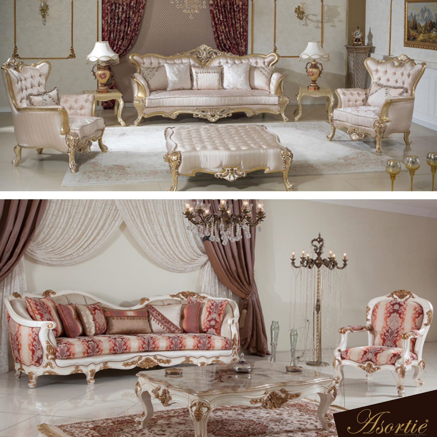 Esella Klasik Koltuk Takimi Esella Classic Sofa Set Luks Evler Mobilya Fikirleri Koltuklar
