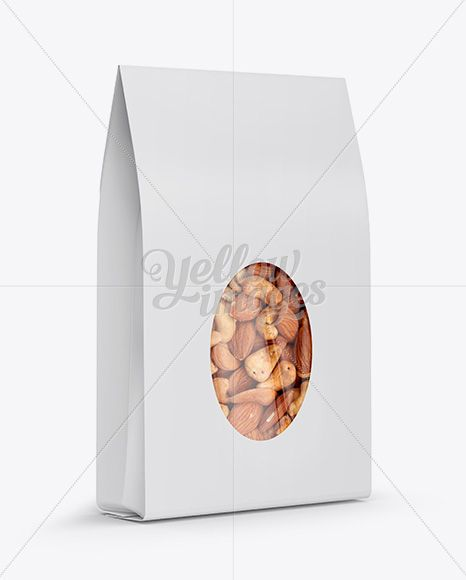 Download Paper Bag W Window Mockup Half Side View In Pouch Mockups On Yellow Images Object Mockups Mockup Free Download Mockup Free Psd Psd Template Free