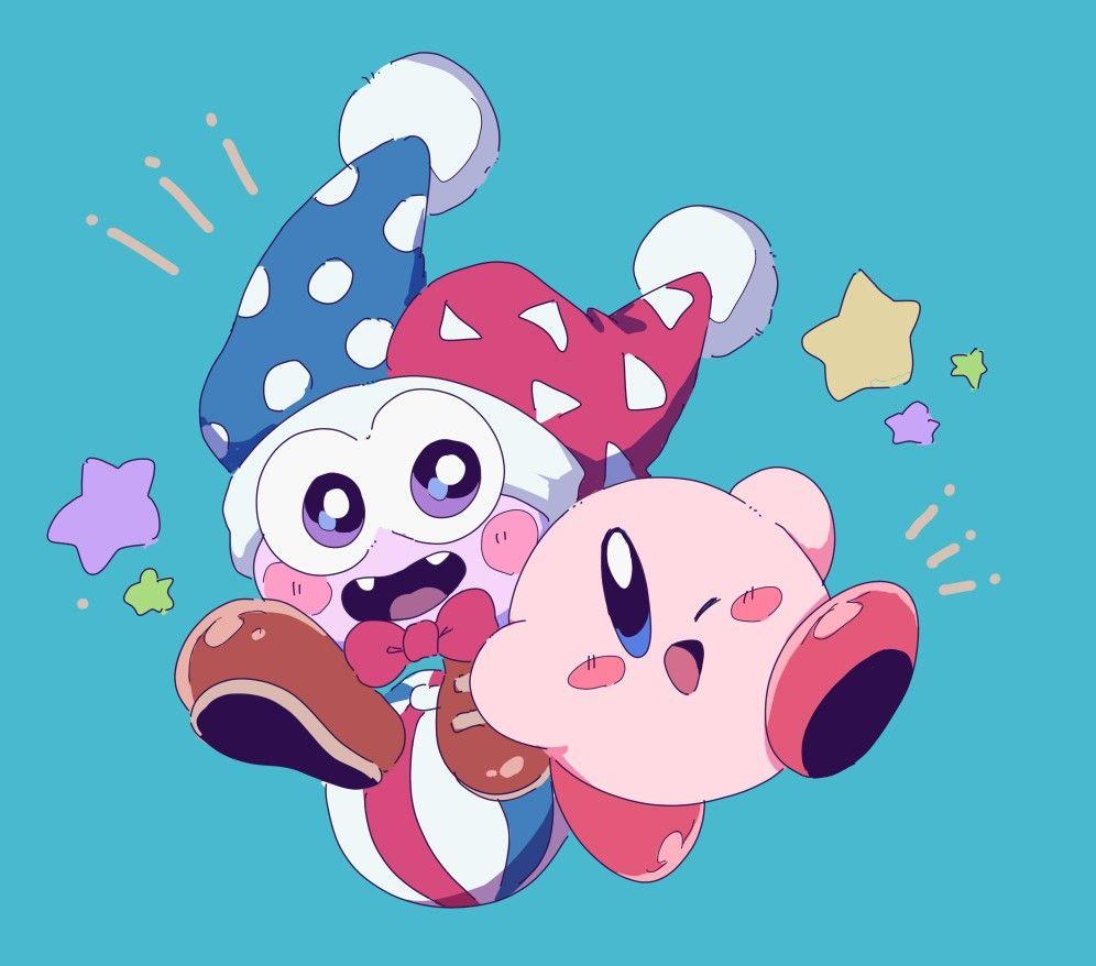 Kirby And Marx Kirby Character Kirby Art Kirby