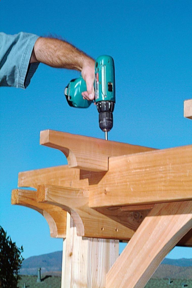 Wood Profits Comment Construire Une Pergola En Bois Pour D Corer  ~ Comment Construire Une Pergola En Bois