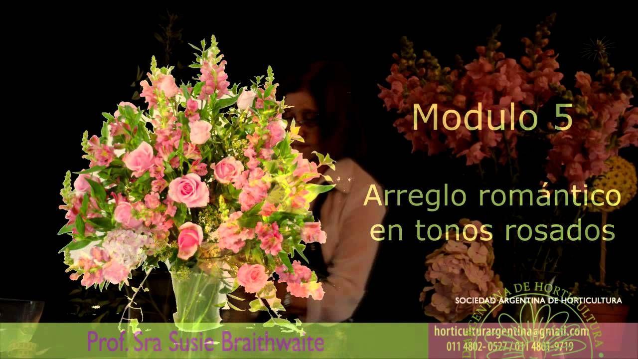Invitación Curso de Arreglos Florales de SAH
