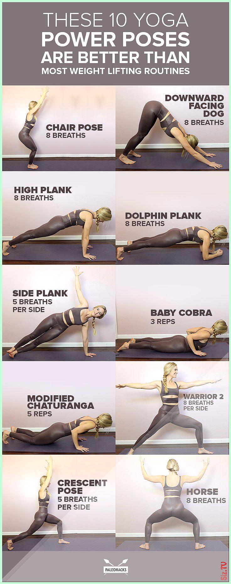 Diese 10 Yoga-Power-Posen sind besser als die meisten Gewichte zu heben Diese 10 Yoga-Power-Posen si...