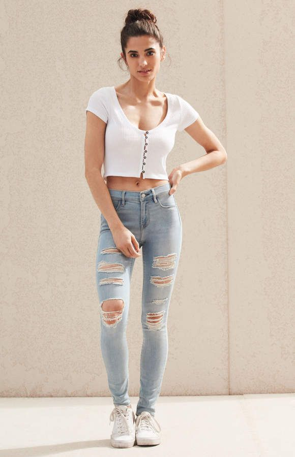 1a93d9178d8a2 Mae Blue Perfect Fit Jeggings | Products | Jeggings, Perfect fit, Pacsun