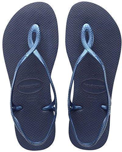 Slim, Tongs Femme, Bleu (Bleu Marine 0555), 37/38 EU (35/36 BR)Havaianas