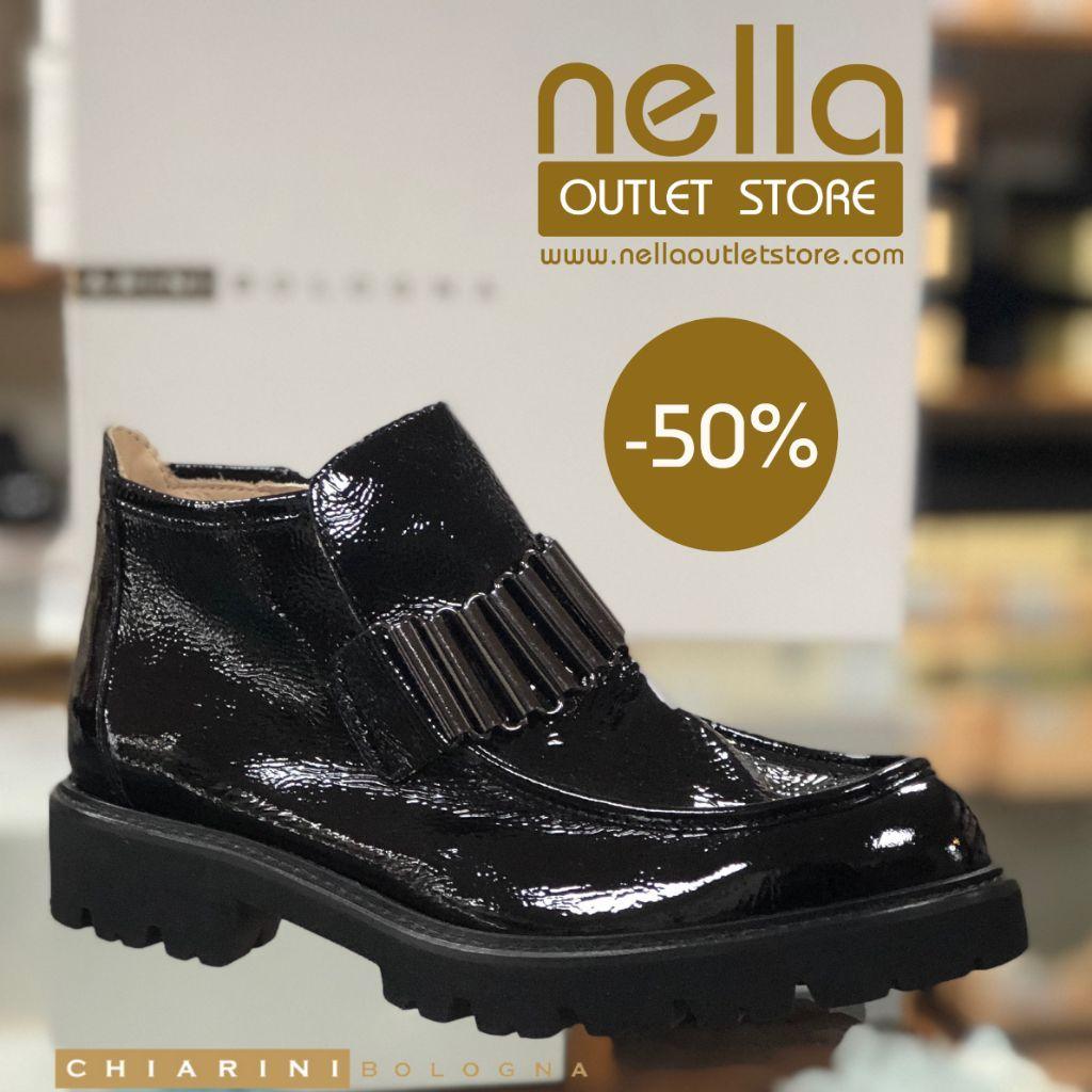 sports shoes 7c31b 15d1a Scarpe carrie naplak nero lucido – CHIARINI BOLOGNA | Nella ...