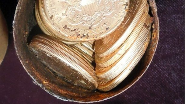 $10M Gold Coin Hoard Found in Yard May Have Been Stolen ...