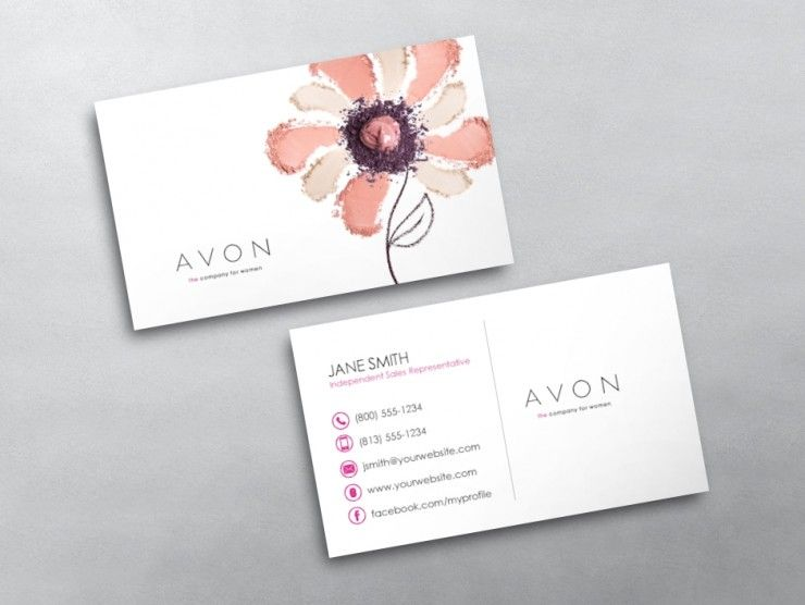 Avon Business Card 10 Free Business Cards Printing Business Cards Avon Business