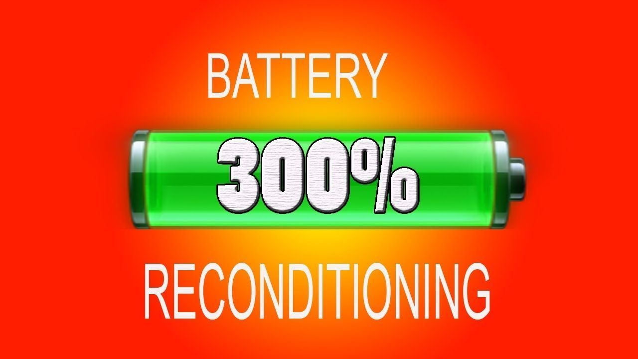 Battery reconditioning New Battery Reconditioning Course