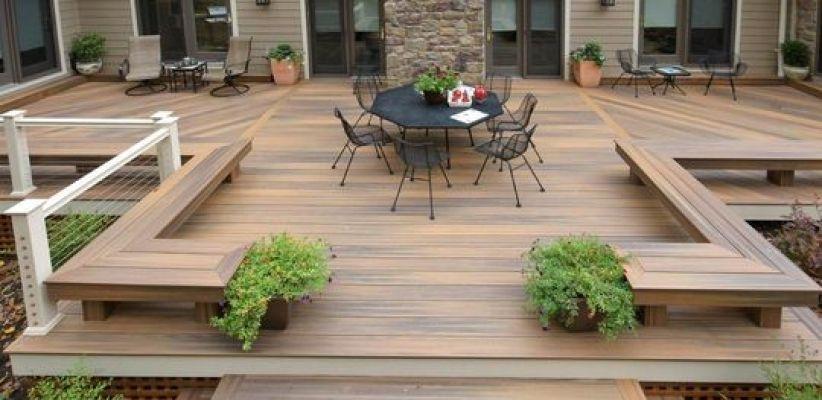 Installer une terrasse dans son jardin le guide Decks Pinterest - Terrasse Suspendue Bois Prix