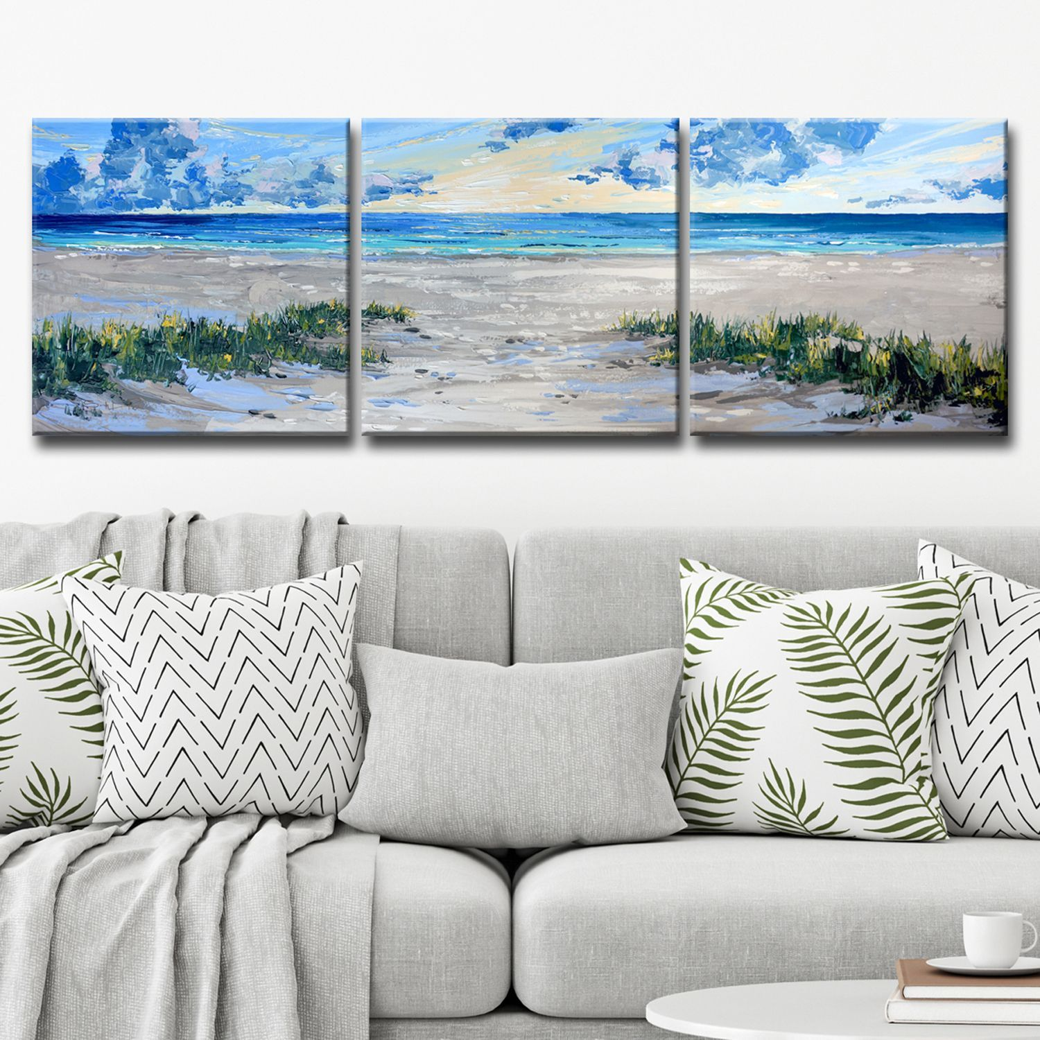 Deep Breathe Large 3 Piece Canvas Art Set 3 Piece Canvas Art Canvas Wall Art Set Multi Canvas Art