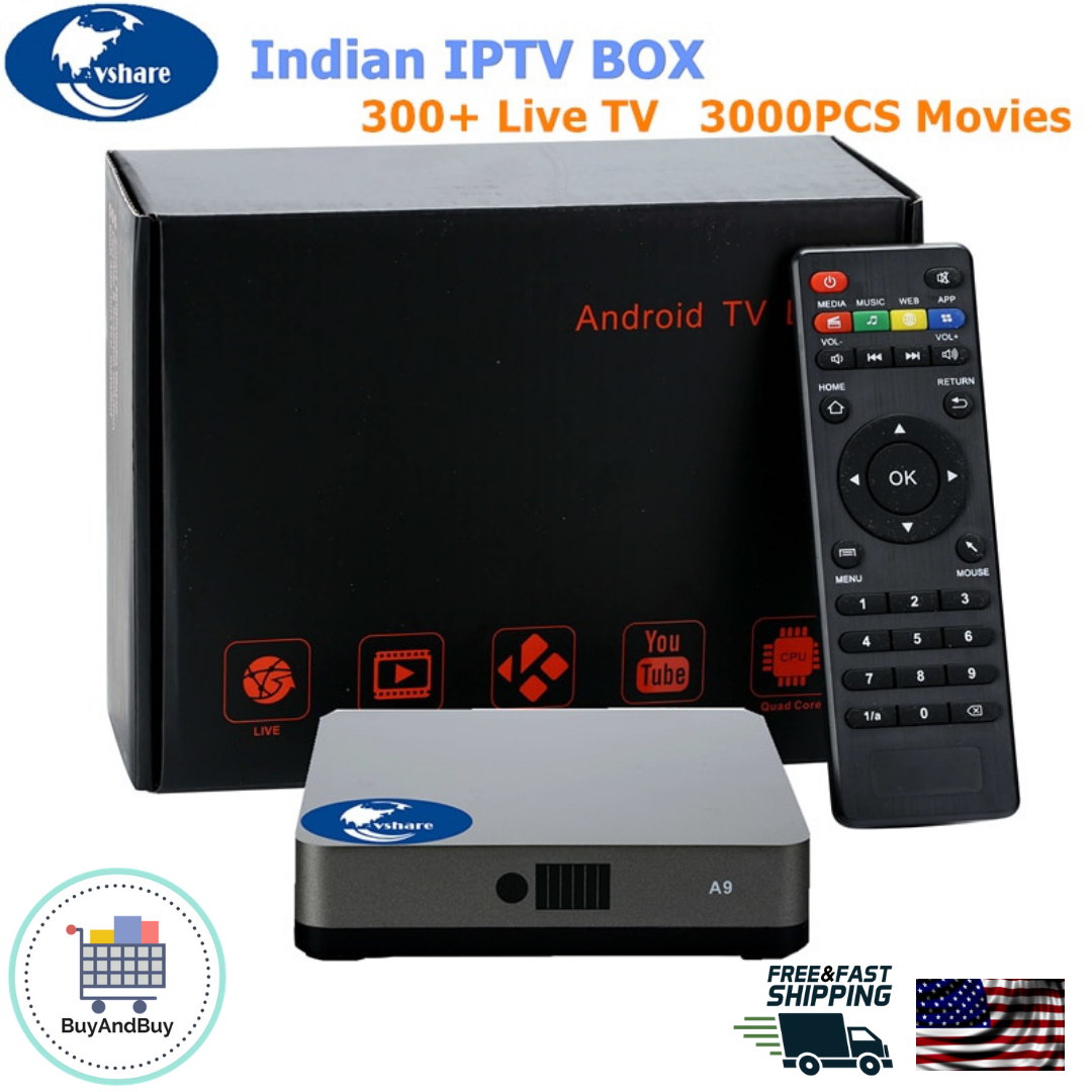 Details about 2018 Indian IPTV Box Support Indian Live TV Channels