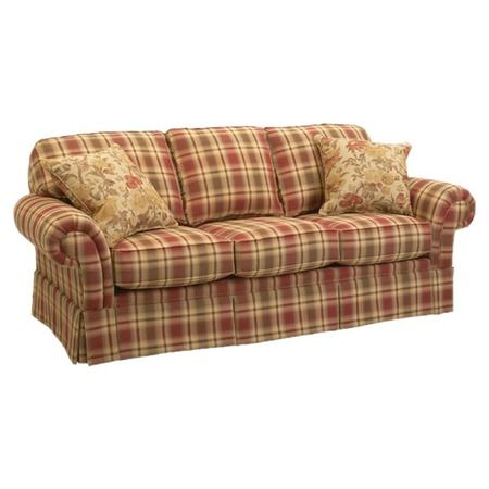 i pinned this erickson sofa from the perfect plaids event. Black Bedroom Furniture Sets. Home Design Ideas