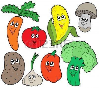 Dibujos De Los Vegetales