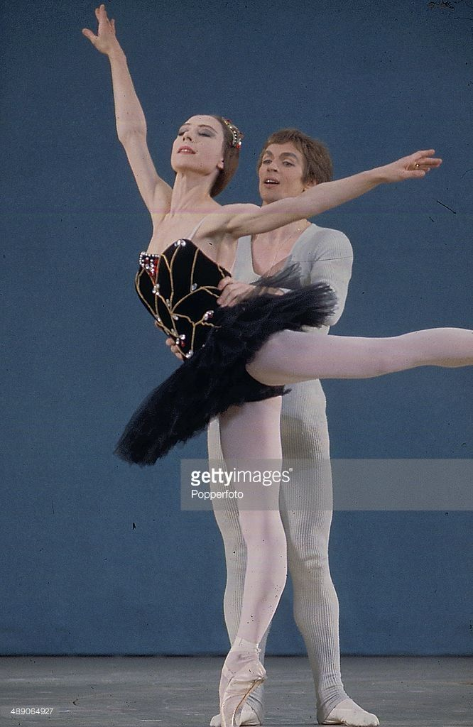 Portrait of Russian-born American ballet director and
