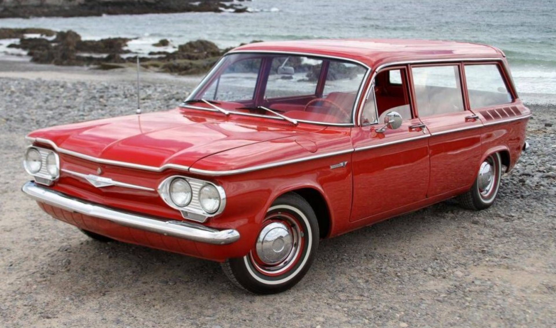 Pin By Edward Skeen On Woodies And Wagons Chevrolet Corvair