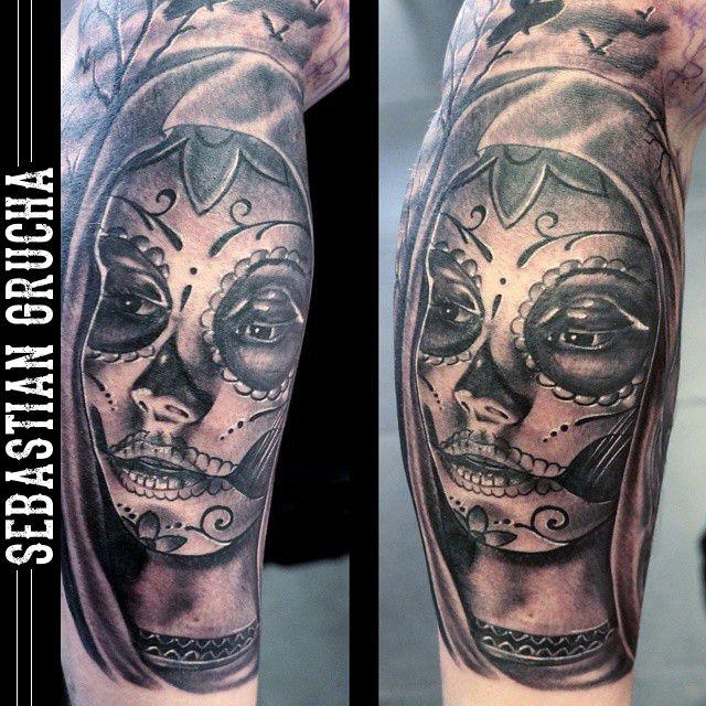 Tattootattoostattoolifetattooartflashmuertemuerta