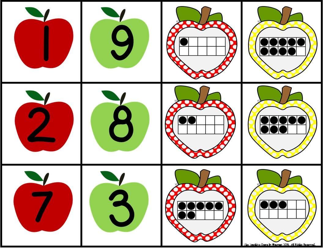 Apple 2 Addend Addition Amp Subtraction With Ten Frames