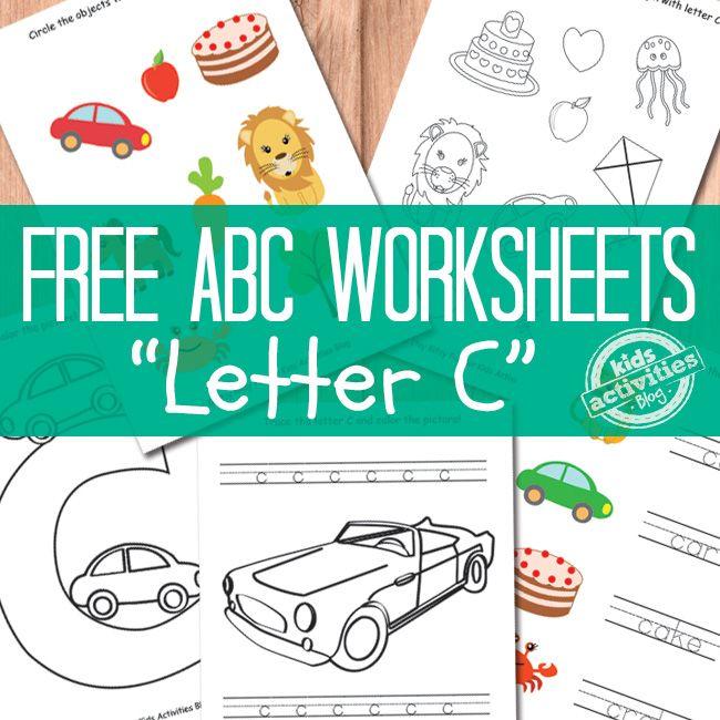 Letter C Worksheets Free Kids Printables Letters Pinterest