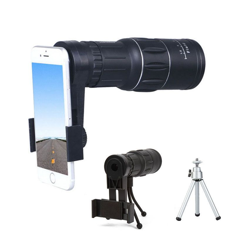Zoom Monocular Telescope Lens Camera Scope 16x52 for iPhone X Galaxy S9 Note 8