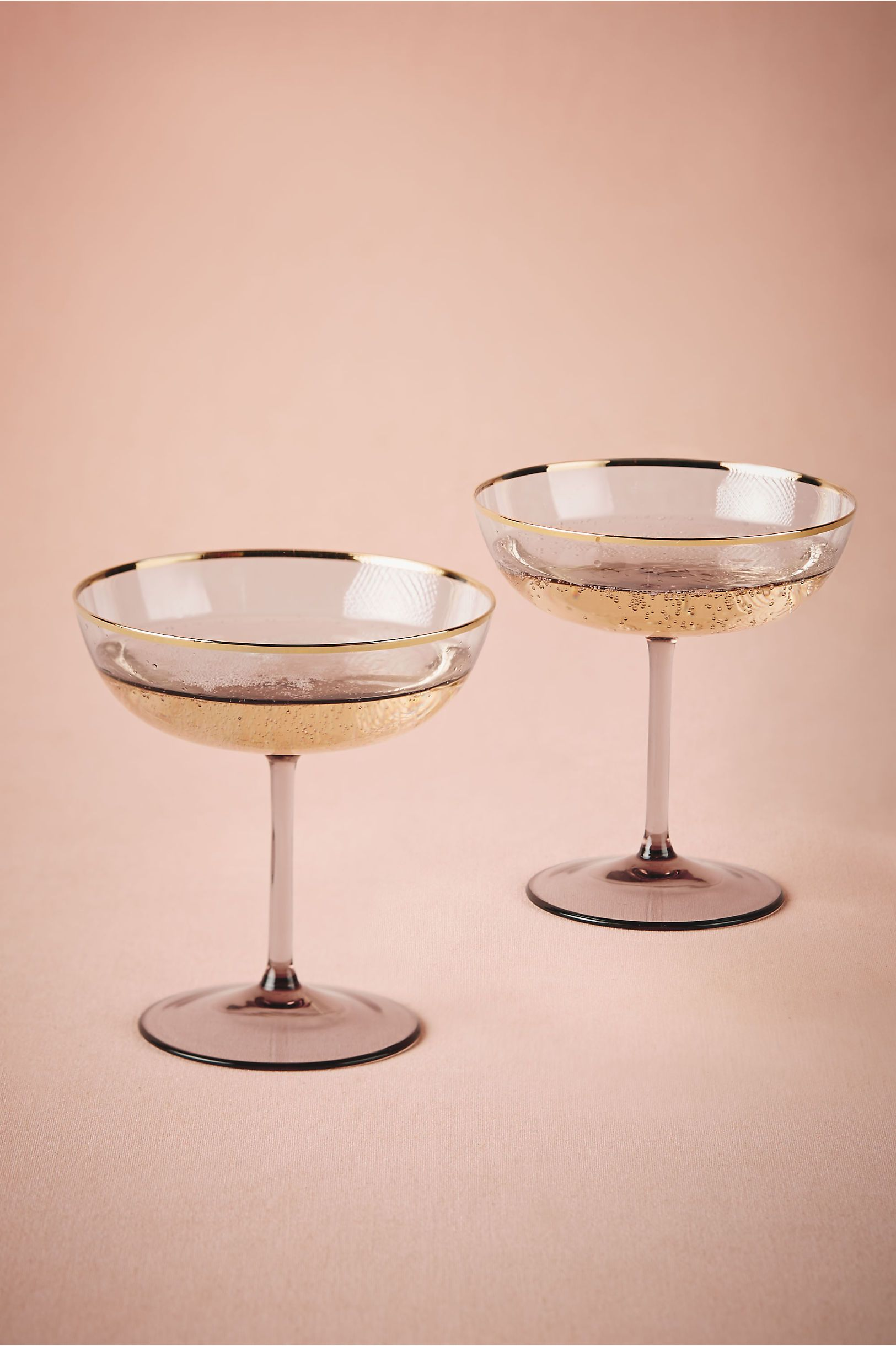 BHLDN Rosy-Cheeked Coupes (2) in Décor View All Décor at BHLDN ...