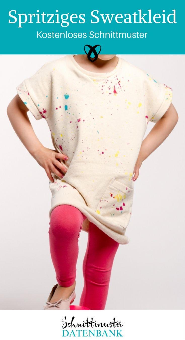 Spritziges Sweatkleid Noch keine Bewertung. | Sewing patterns, Free ...