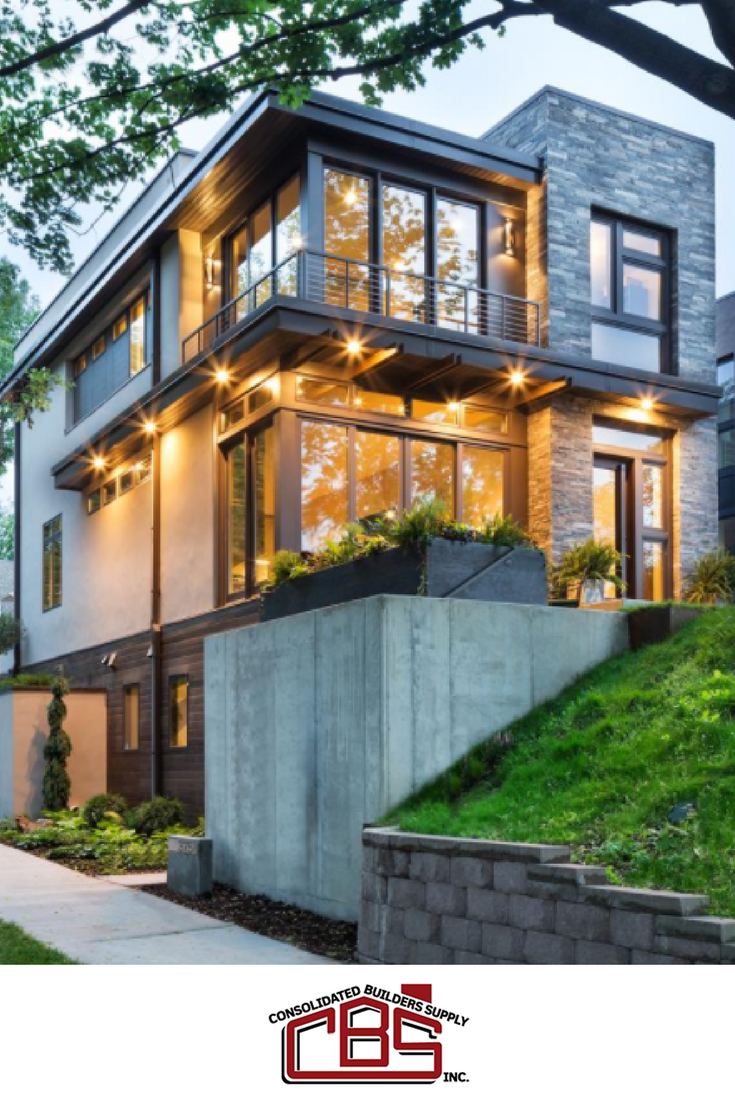Modern Organic Home By John Kraemer Sons In Minneapolis Usa: Gorgeous Work From Integrity By Marvin Windows & Doors
