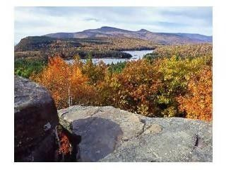 Blue Mountain Lake and Lodging in the Heart of the Adirondack State Park, New York