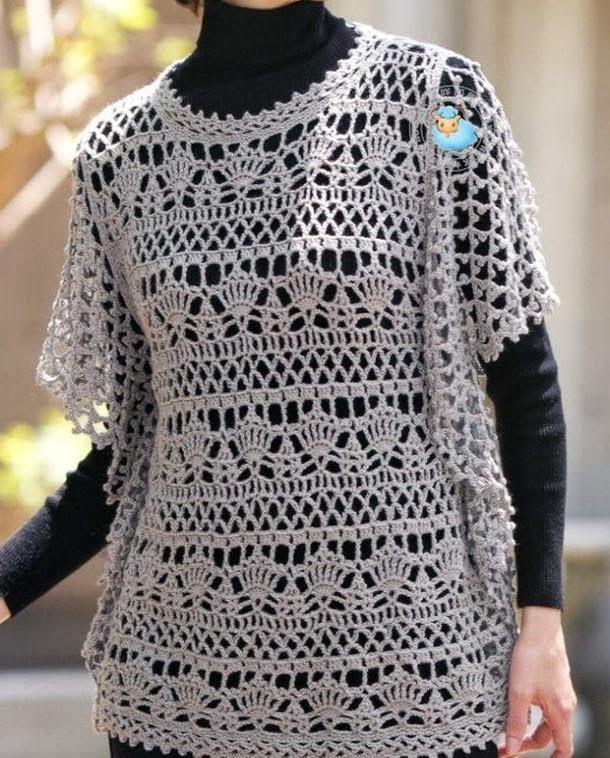 Free Crochet Patterns For Tunic Tops : crochet+design Crochet Pattern OF Wonderful Tunic ...