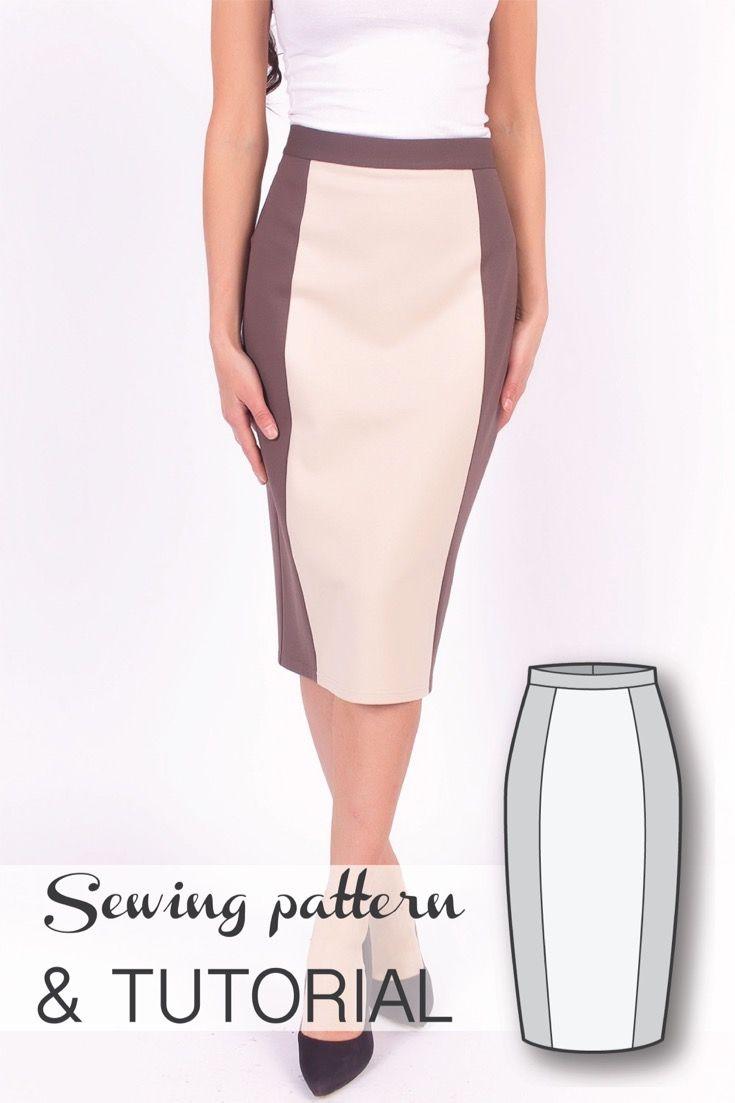 Skirt Patterns - Sewing Tutorials - Pencil Skirt Pattern - Skirt ...