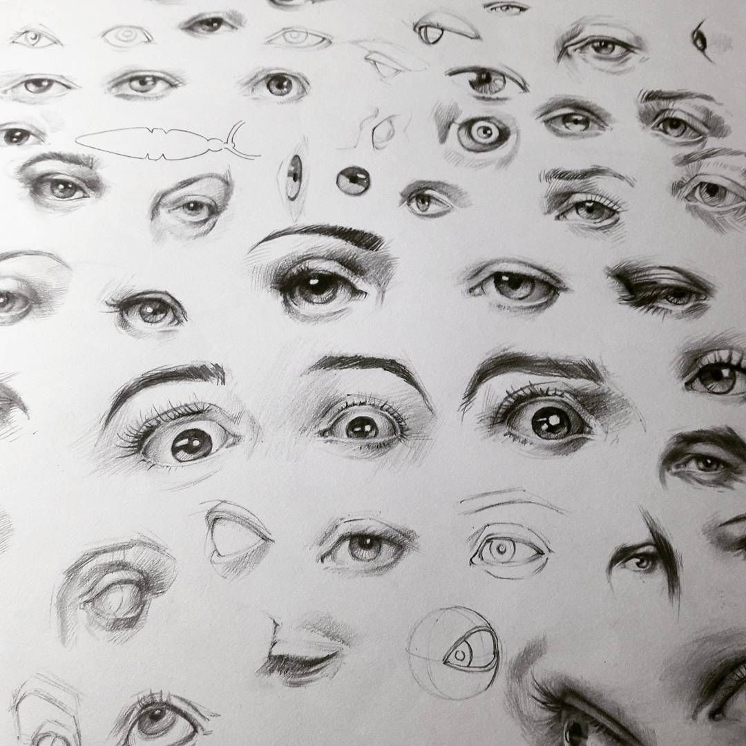 eye eyes study illustration ilüstrasyon drawing