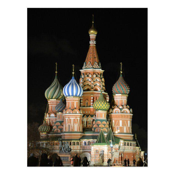 Saint Basil's Cathedral Postcard   Zazzle.com