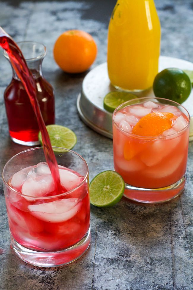 This Skinny Hurricane Cocktail Is A Healthier Version Of