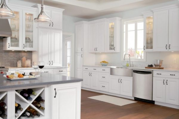 painting-white-kitchen-cabinet- Best Kitchens in 2018 Pinterest