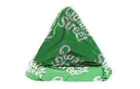 Quality street sweets - used for inspiration to make my accessories. (bags, earrings, necklace). Green triangle
