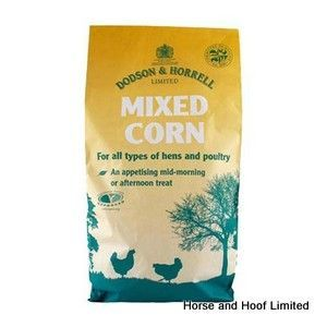 Dodson & Horrell Mixed Corn Poultry Food 20kg | Poultry Feed