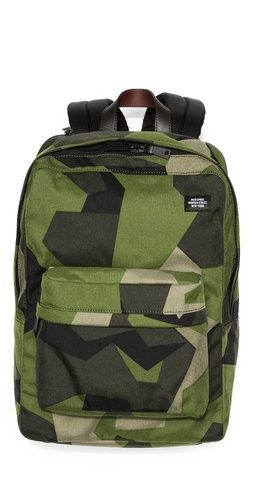 Jack Spade Swedish M90 Cordura Camo Backpack