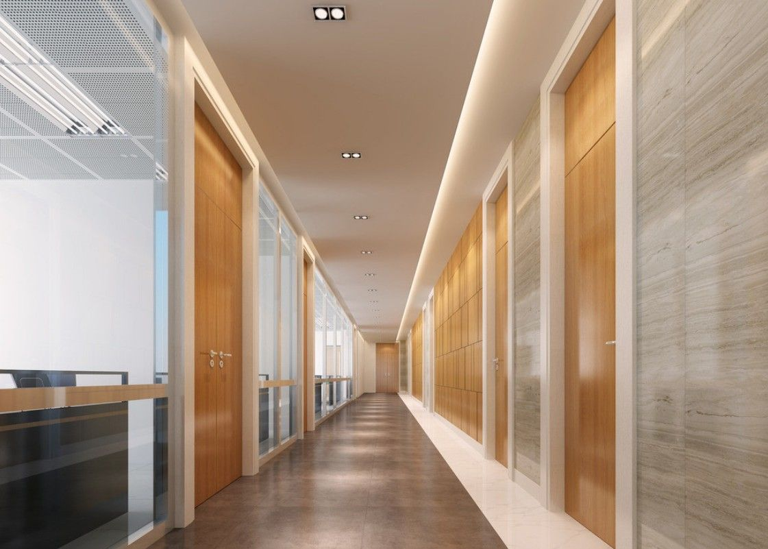 Office corridor design ile ilgili g rsel sonucu interior for Office hallway design