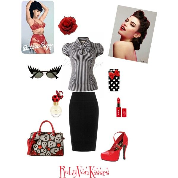 """Pin Up !"" by rubyvonkisses on Polyvore"
