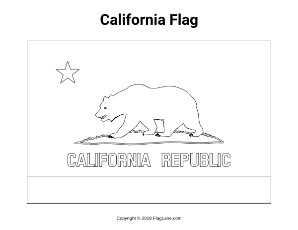Free Printable California Flag Coloring Page Download It At Https Flaglane Com Coloring Page California F Flag Coloring Pages California Flag Coloring Pages