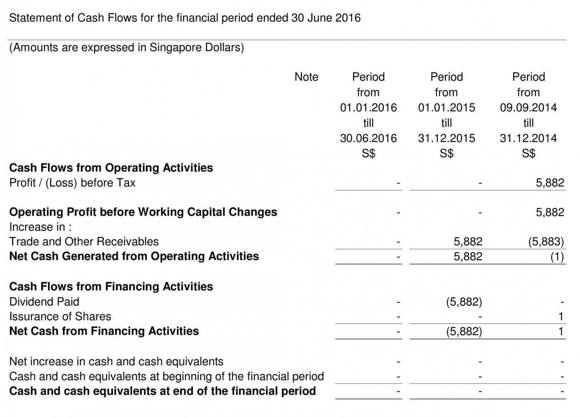 Financial Statement Template Singapore 15 New Thought About Si Balance Sheet Comparative Analysi Example