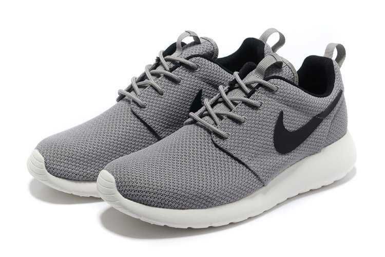 best service 44041 47ed3 Nike Roshe Run Yeezy UK - Mens Grey Black