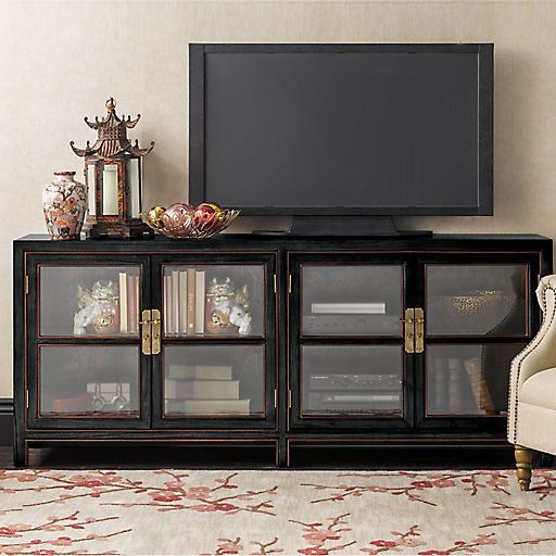 Richardson Media Console Gump S Living Room Update Media
