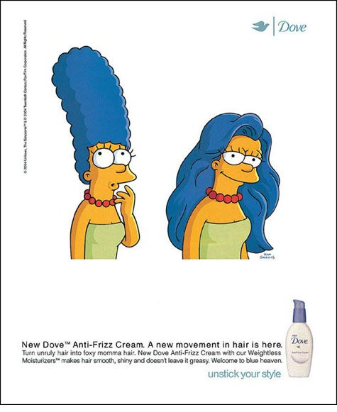 Dove: Marge Simpson