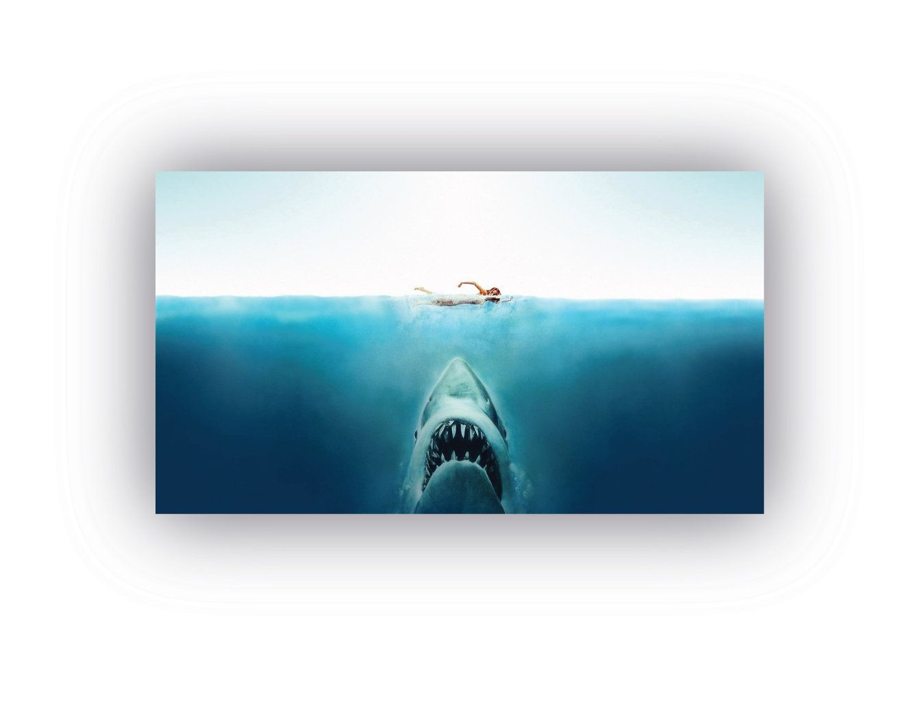 Jaws Poster Classic Movie Prints Jaws Alternative Film Poster Etsy Wall Art Quotes Movie Prints Prints