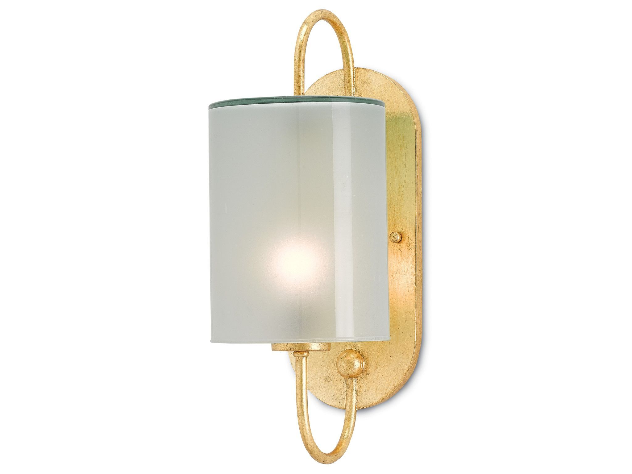 Glacier wall sconce in contemporary gold leaf design by currey glacier wall sconce in contemporary gold leaf design by currey compa aloadofball Image collections