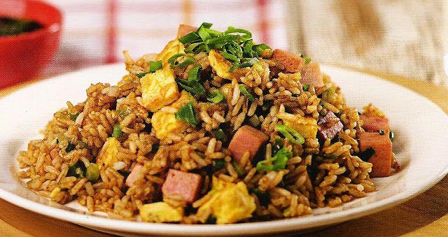 Como hacer arroz chaufan facil